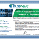 CorvusPay - PCI DSS certifikat