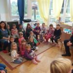 Gradonačelnik Pregrade Marko Vešligaj s vrtićancima Dječjeg vrtića Naša radost